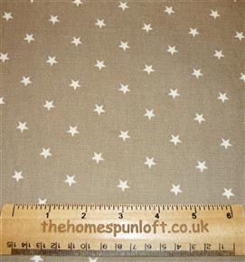 "2 yds Primitive Star Upholstery Fabric 54"" Wide"