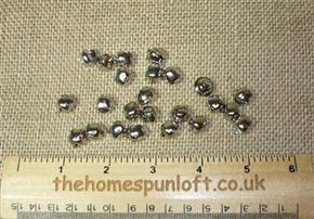 9mm Mini Silver Jingle Bell for Crafting