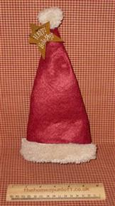 Happy Holidays Cute Christmas Santa Bottle Hat