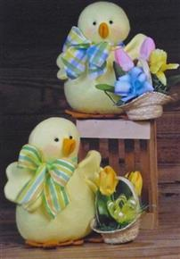 Peepers Chicks Countryside Crafts Pattern