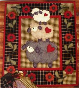 Wooly Sheep Quilt Kit by Rachel's of Greenfield