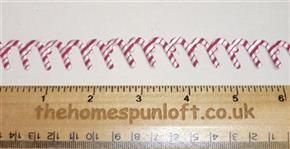 1 yard Candy Cane Christmas Ribbon