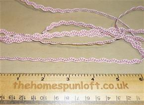 1 yd Cream Ric Rac Herringbone Stitch Ribbon