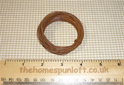30ft Roll of Rusty Tin Primitive Wire for Crafting