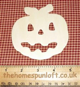 Halloween Pumpkin Jack O Lantern Wooden Cut Out