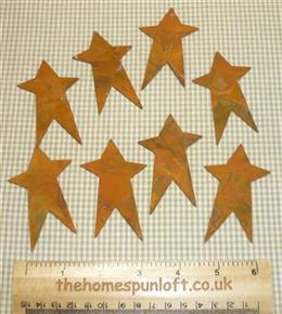 7.5cm Rusty Tin Primitive Star