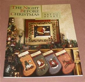 Art to Heart Night Before Christmas Pattern Book