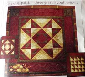 Autumn Star Quilt Kit by Rachel's of Greenfield