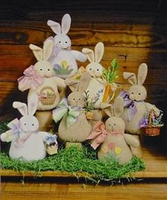 Bunches of Bunnies Countryside Crafts Pattern