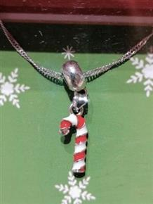 Christmas Jewellery Christmas Candy Cane Necklace