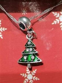 Christmas Jewellery Christmas Tree Necklace
