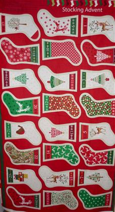 Christmas Stocking Advent Calendar by Makower