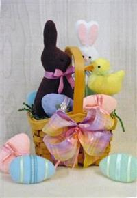 Easter Sweets Basket Countryside Crafts Pattern