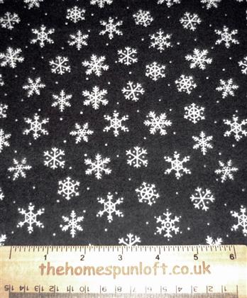 End Of Bolt - FLANNEL Christmas Winter Snowflake