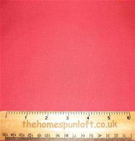 FQ Light Tomato Red Plain Cotton Fabric