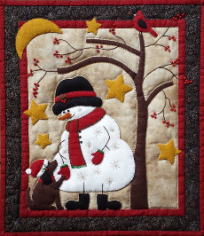 Frosty and Friend Quilt Kit Rachel's of Greenfield
