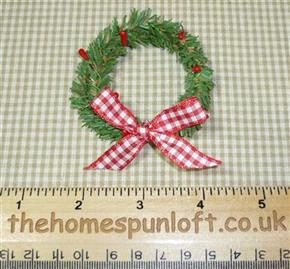 Handmade Mini Christmas Wreath Decoration