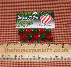 Holiday Collection Sew Cute Present Buttons