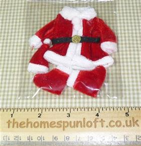 Mini Father Christmas/Santa Suit for Crafts