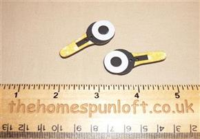 Pair Sewing Rotary Cutters - Wooden Button Pack