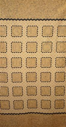 Primitive Full Circle Fabric panel by Moda