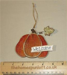 Pumpkin Wooden Decoration Autumn Halloween Fall
