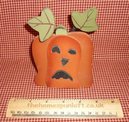 Wooden Pumpkin Decoration